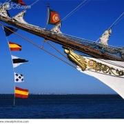 Ship\'s Jib Boom and Signal Flags