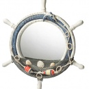 lustro w stylu morskim