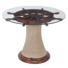 stol z kolem sterowym