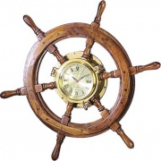 prezent dla szefa zegar w kole sterowym