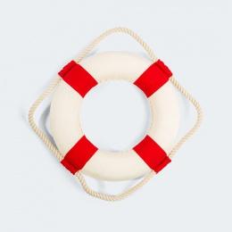 kolo-ratunkowe-kremowo-czerwone
