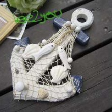 125392450_nautical-wooden-wall-decor-hanger-hook-fish-seashell-net